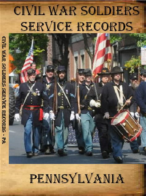 York County Pa Civil Search Research Your Civil War Ancestor Union Civil War Soldiers Service Records