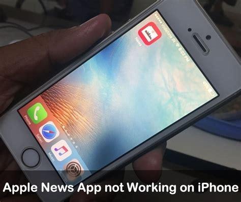 apple news app  working  iphone  ipad heres fixes