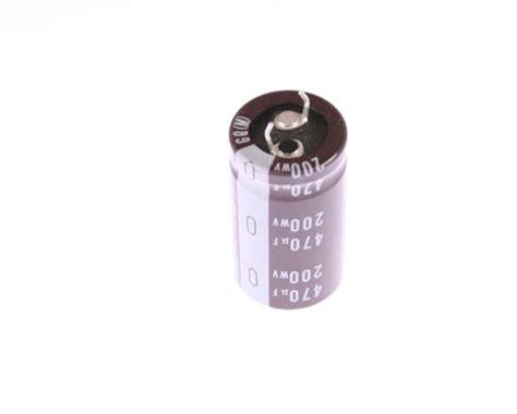 condensador electrolitico 470uf 200v lgq2d471mhsz nichicon capacitor 470uf 200v aluminum electrolytic snap in high temp 2020030941