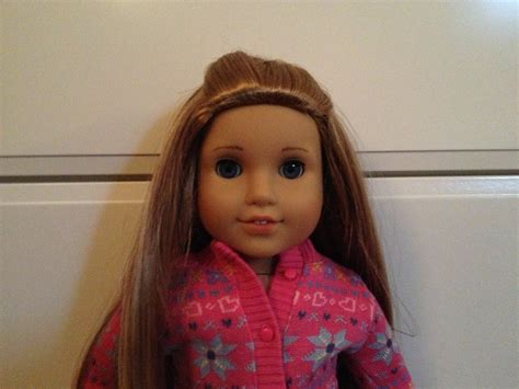 american girl hairstyles step by step pretty lilly an american girl diy hairstyle