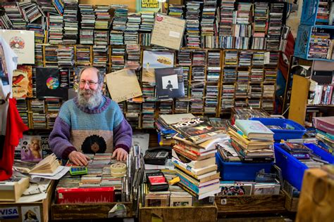 Records Ontario Brian Lipsin Is Kingston Ontario S Anarchist Record Shop Owner Noisey