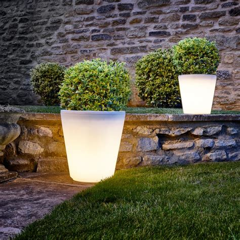 Lighted Planters by Assisi Led Planter Lighting Direct