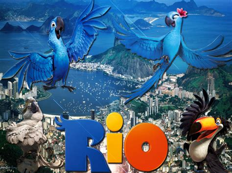 Blu from the computer animated film rio images rio the movie