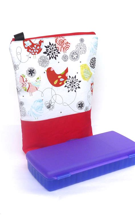 custom insulated lunch bag fit tupperware sandwich keeper