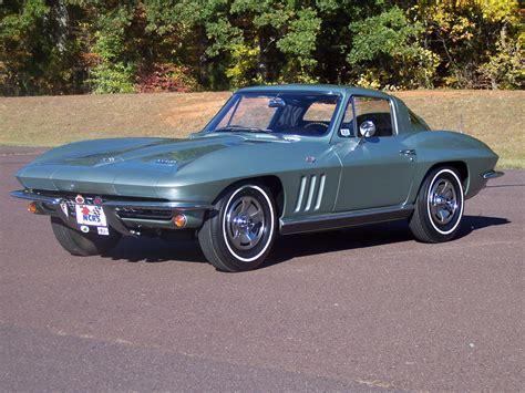 One Car Garage 1966 corvette restoration