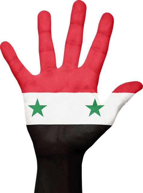 syria flag hand 183 free image on pixabay