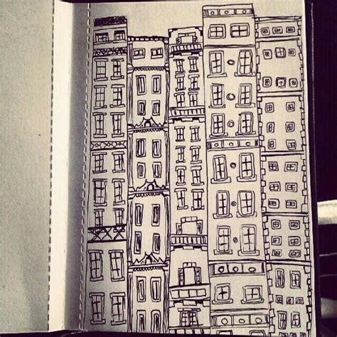 building doodle building doodle illustration
