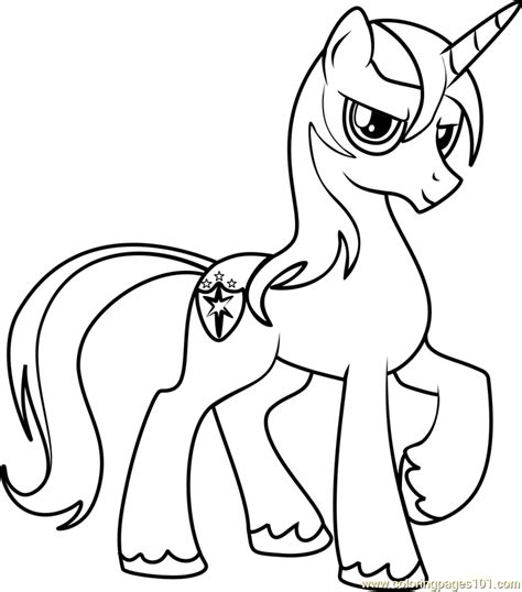 coloring pages my little pony shining armor shining armor coloring page free my little pony