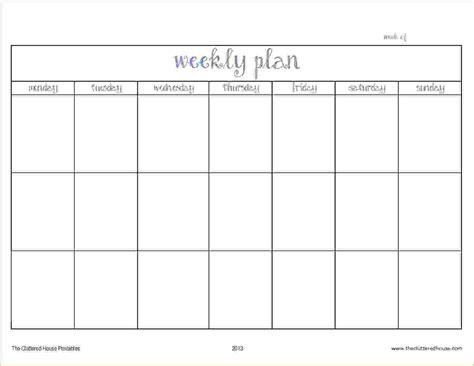 printable 4 week calendar printable weekly excel template fiscal