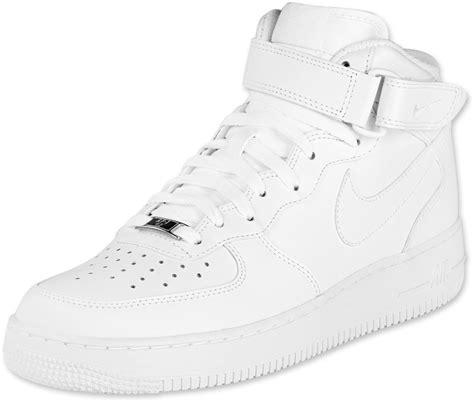 sandal whitley 1 white nike air 1 mid shoes white