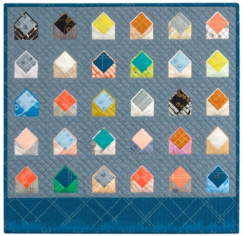 Pattern For Envelope Quilt | new quilt pattern envelopes carolyn friedlander
