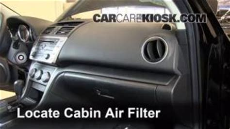 Bad Cabin Air Filter by Replace A Fuse 2009 2013 Mazda 6 2012 Mazda 6 I 2 5l 4 Cyl