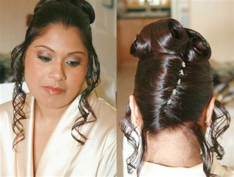 indian engagement hairstyles 2011 indian bridal hairstyles 2011 bridal makeup