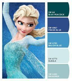 Fc Elsa New 4 96rb new genuine exclusive disneyland princess elsa frozen canvas picture cuadros de arte