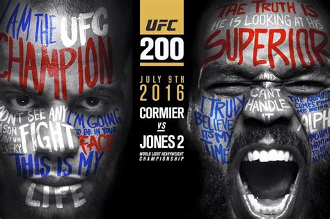 ufc card template what s the worst that could happen anti jinxing ufc 200