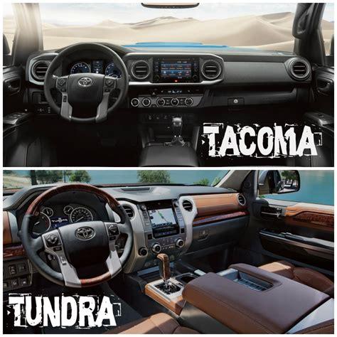 toyota tacoma vs tundra 2016 toyota tacoma vs 2016 toyota tundra