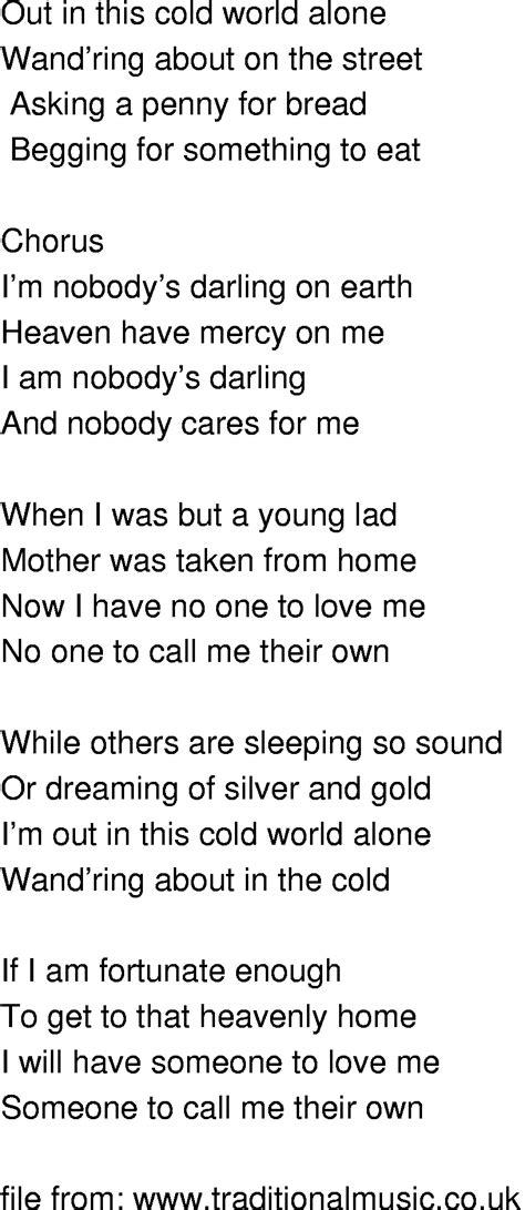 time song lyrics nobodys on earth