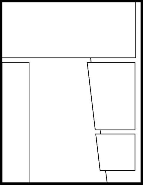pin printable blank comic strip on pinterest