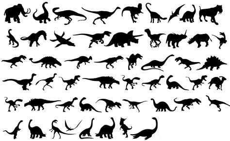 dinosaurs silhouettes tattoo ideas pinterest