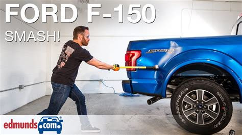 Ford F250 Truck Bed Replacement Edmunds Com Editors Hit Aluminum 2015 Ford F 150 With