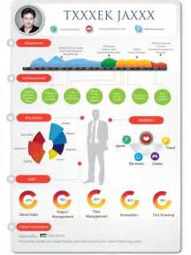 infographic resume template visual ly