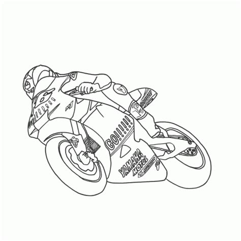 simple motorcycle coloring pages simple motorcycle drawing sketch coloring page