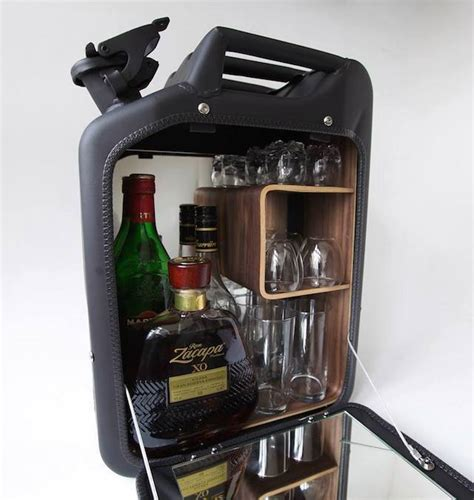Jerry Can Bar Cabinet World War Ii Jerry Cans Transformed Into Bar Cabinets