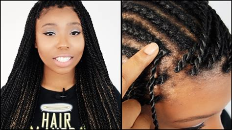how to install crochet braids without a latch hook needle latch hook senegalese twists start to finish in 6 minutes you