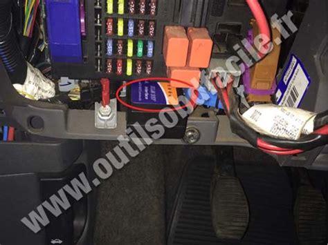 obd connector location  fiat linea