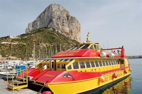 catamaran boat trips benidorm excursiones maritimas en calpe calpe boat trips