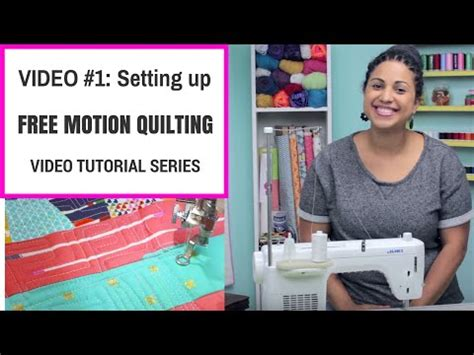 free motion quilting tutorial youtube free motion quilting video tutorial series by crafty