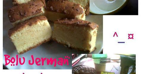 cara membuat kue bolu jerman resep kue lebaran resep bolu jerman boljer