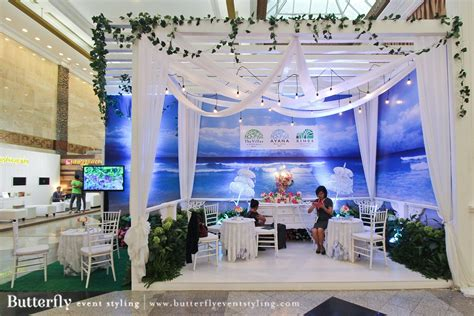 design event jakarta butterfly event styling at jakarta wedding festival 2015