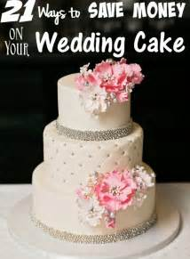 wedding cake on a budget frugal wedding archives the frugal navy