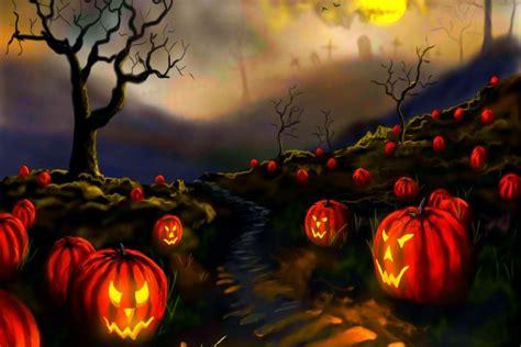 imagenes en 3d de halloween calabazas de halloween en el co 71557