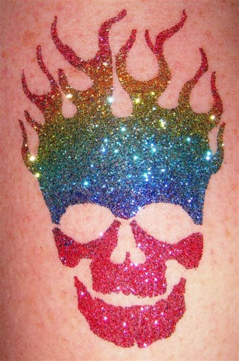 90 cool glitter tattoos