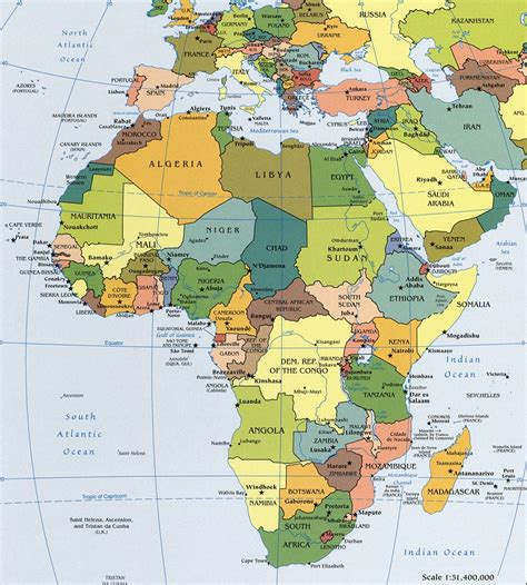 political map of africa free world maps political map of africa worldatlas com