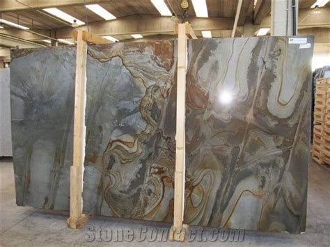 illusions color spa illusion blue quartzite slabs from italy stonecontact