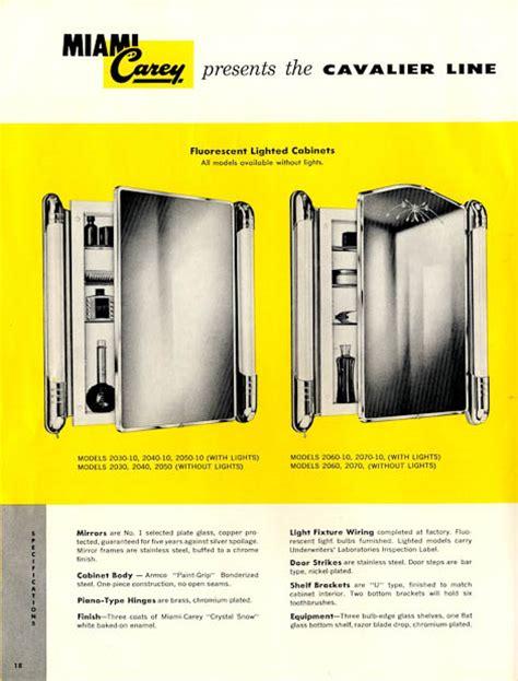 Vintage Bathroom Cabinet 42 Vintage Medicine Cabinets From Miami Carey Circa 1955