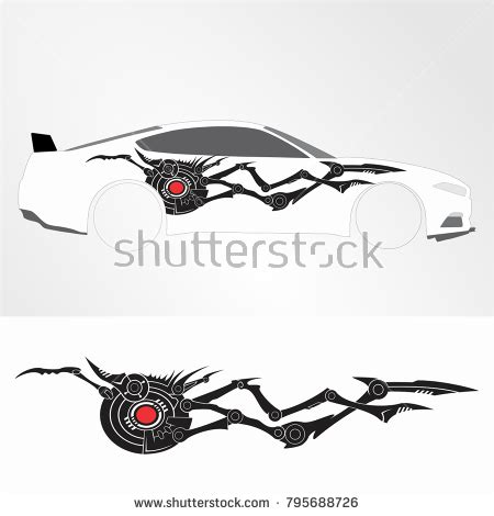 motorcycle graphics templates decal vinyl stock images royalty free images vectors