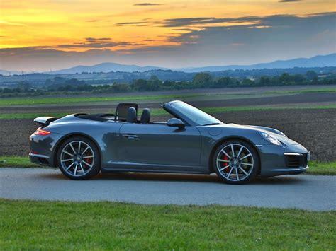 Verbrauch Porsche 911 by Porsche 911 Carrera 4s Cabrio Im Test Auto Motor At