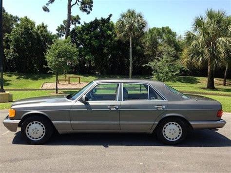 auto air conditioning service 1991 mercedes benz s class lane departure warning purchase used 1991 mercedes 300se low miles clean autocheck garage kept florida mint condition