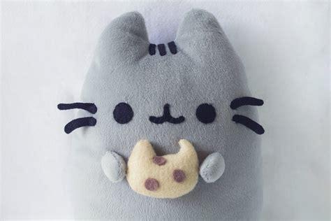 pusheen plush diy diy pusheen cat cookie plush