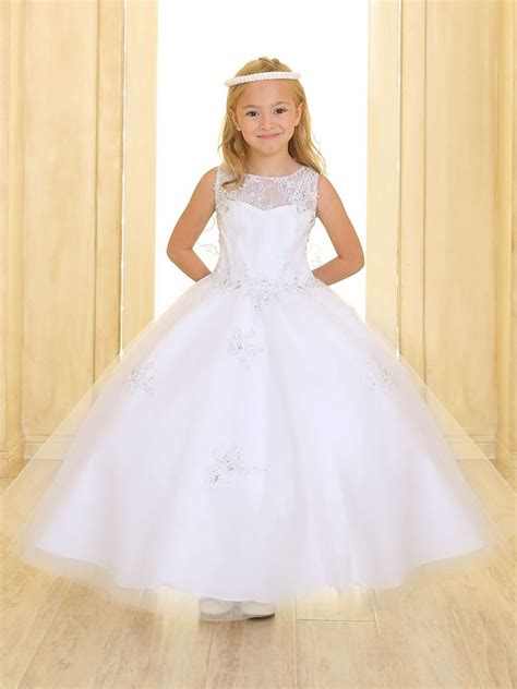 White Gown Tulle white sweetheart lace tulle gown