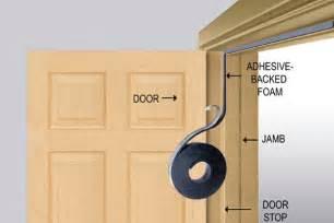 Interior Door Weather Stripping Weatherproofing Doors And Windows Handyman Joes