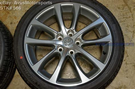Toyota Oem Tires New 2015 Toyota Avalon Oem 18 Quot Factory Wheels Tires Solara