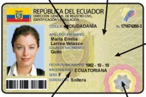 cuanto cuesta el dni en canning las tosca ecuador con nueva gestion de identidad spanish readers