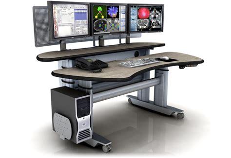 multi tiered computer desk 製品情報コンソールデスク