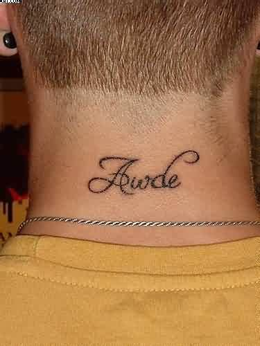 tattoos for men on back of neck 24 back neck tattoos for