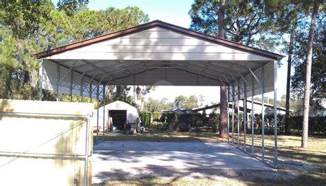 4 Car Metal Carport 24 W X 36 L X 9 H Carport Metalbarnscentral